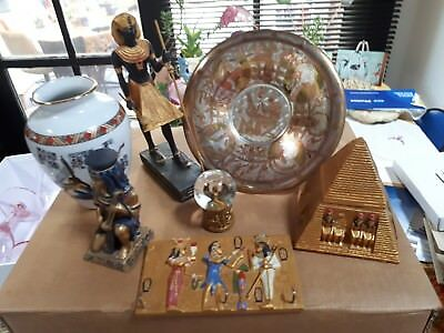 EGYPTION COLLECTION mixed lot of 7 items  I'm parting from. REDUCED 4 QUICK SALE