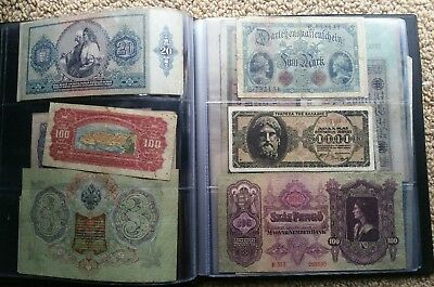 Banknotes Currency Collection Bulk Lot