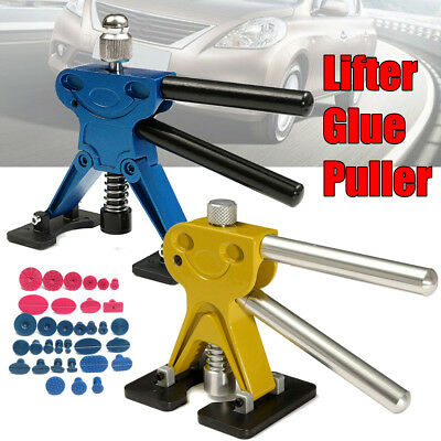 Pdr Car Paintless Dent Puller Lifter Body Glue Gun Repair Hail Removal Tool Kit