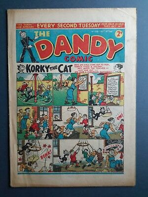 Dandy comic. #198. 1941. War - time issue. Good cond