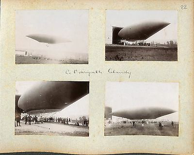 Lebaudy LE 1 ER dirigeable Luftschiff Airship  PHOTOS 100 % ORIGINALES COLLÉES