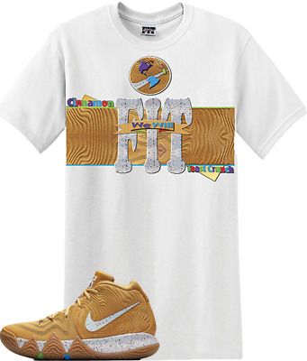 6a09cd90fa80 We Will Fit shirt to match Nike Kyrie 4 Cinnamon Toast Crunch Cereal Pack