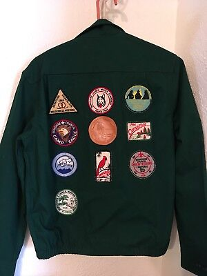 Official Boy Scout Jacket  Size Small With Badges