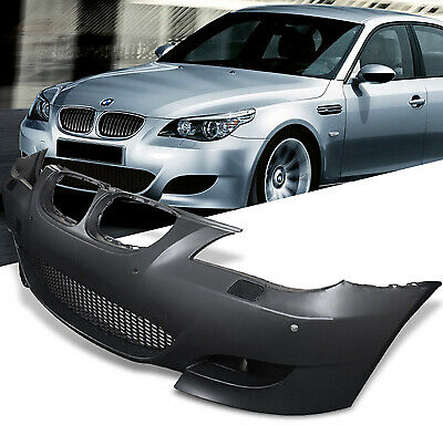 Bmw E60/e61 5 Series M5 Look Sport Front Bumper Pdc Fogs Complete / Equipped