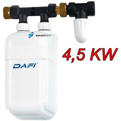 4,5Kw Dafi Inline Under Sink Water Heater Tankless Electric Boiler Hot Water