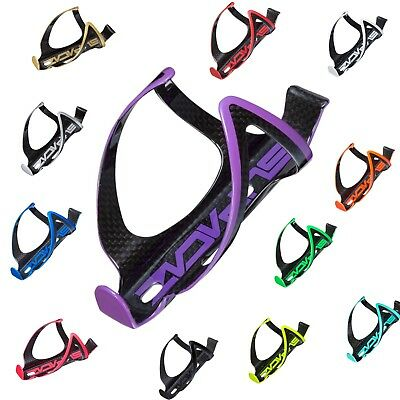 5e0e4542ae0 Supacaz Fly 3K Carbon Cycling Bicycle Water Bottle Cage Multi-Color