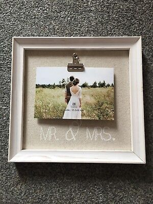 Mr And Mrs Frame Wedding Present Picture