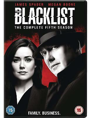 The Blacklist Season 5 DVD Brand New and Sealed 5 Disc Set / FREE UK Delivery