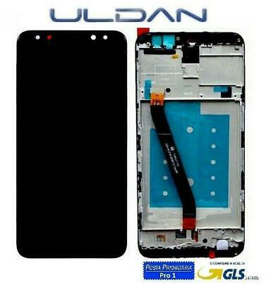 Touch Screen Vetro Lcd Display Frame Huawei Mate 10 Lite Rne-L21 Rne-L01 Nero