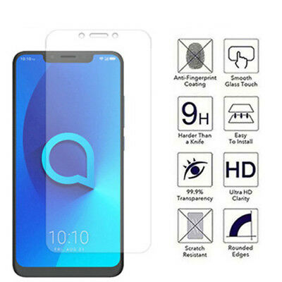 9H 2.5D Tempered Glass For Alcatel 3 3L 2019 3X 3V 3C 5 5V Screen Protector Film