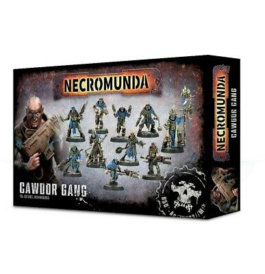 Necromunda: Cawdor Gang Games Workshop Brand New 99120599007