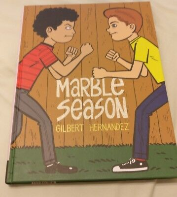 Marble Season, Gilbert Hernandez, New Book