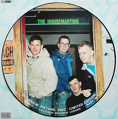 THE HOUSEMARTINS - Limited Edition Interview Picture Disc UK