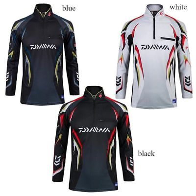 Quick-Dry Men Fishing Suit Shirt Long Sleeve Fishing Hoodies Outdoor Breathable