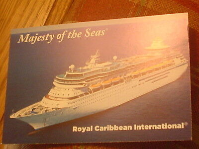 Majesty of the Seas . Royal Caribbean Cruise Line Ship RCCL Ocean Liner Boat