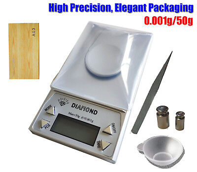 High Precision 0.001g/50g Digital Pocket Scales Jewellery Electronic Milligram