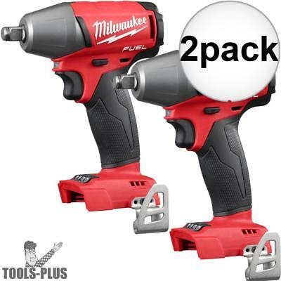 "Milwaukee 2755B-20 1/2"" Impact Wrench with Friction Ring (Tool Only) 2x New"