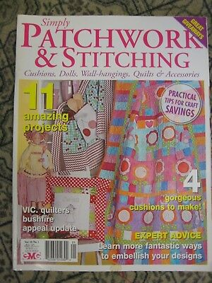 Patchwork & Stitching Mag V10 N1 Cushion Colour Kimono Rocket Flower Apron Doll