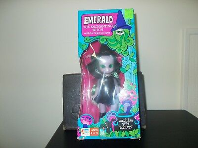 """Rare Emerald The Enchanting Witch Doll """"With light up eyes"""