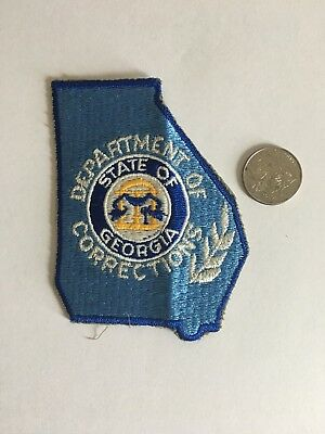 Georgia Department of Corrections GA police patch