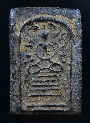 Rare!!! Old Phra Somdet Holy Powder Genuine,Thai Amulet,Rich Luck.Protection.