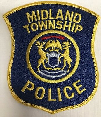 Midland Township Police Department Michigan Shoulder Patch New PD