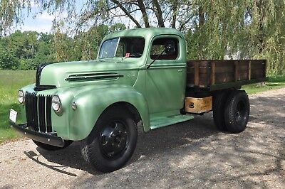 1946 Ford 1.5 Ton Stake Body 1946 Ford 1.5 Ton Stake Body Truck Restored in Perfect Mechanical Condition!!