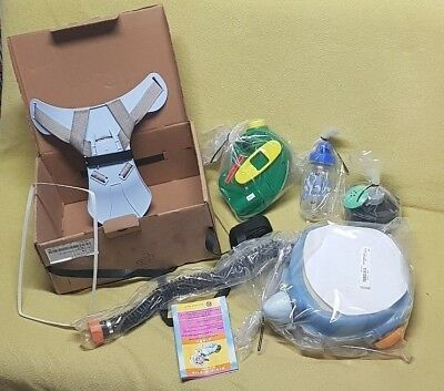 07/11/10 New Children, Kids Babies Israeli Protective Kit Gas Mask Age 2-8 NEW