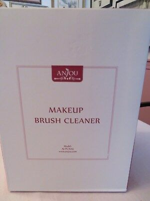 Anjou Electric Makeup Brush Spinner Cleaner Makeup Brush Cleaner and Dryer