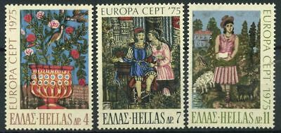 Greece 1975 Mi. 1198-1200 MNH 100% Europe Cept