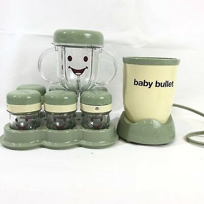 Magic Baby Bullet Food Prep System Storage Blender Infant Read More