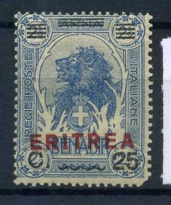 Eritrea 1924 Sass. 84 MH 40% 25 c. on 2,5