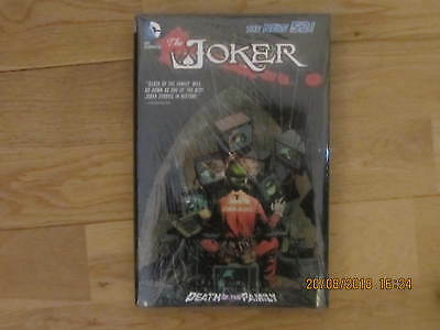 Dc Comics The Joker The New 52 Death Of The Family Hardback Book New & Sealed