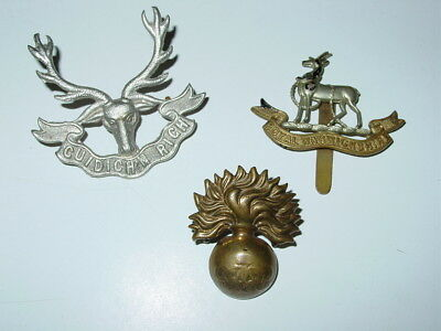 Lot of 3 British WWI or WWII badges