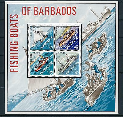 [21845] Barbados 1974 Fishing Boats Souvenir Sheet MNH