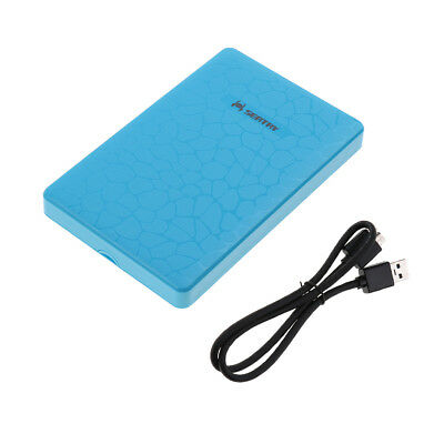 2.5inch USB 3.0 External SATA Hard Drive HDD / SSD Enclosure Caddy Case #2