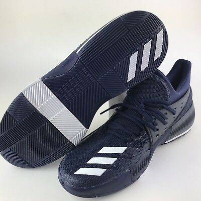 reputable site 453cf a9a89 Adidas Dame 3 Damian Lillard Navy Blue Size 13 New Mens Basketball Shoe C4  359