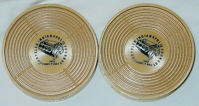 8 New Vintage 1972 Chrysler Indianapolis Foundry Family Day Coasters