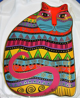 LAUREL BURCH FOR THE LOVE OF CATS Plate Franklin Mint 24K Gold Fine Bone China