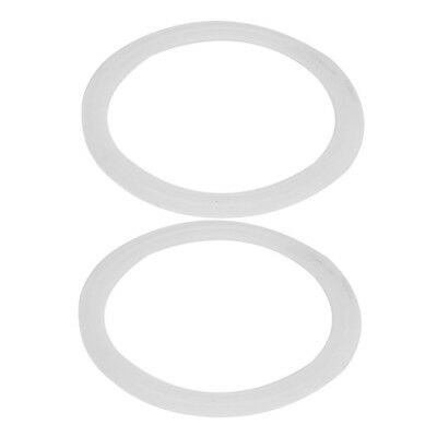 102mm Silicone Gasket 2pcs for 4-inch Tri Clamp Sanitary Pipe Ferrules K1W6 ZC