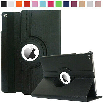 "For Apple iPad 6th/Generation 2018 9.7"" iPad 360 Rotating Smart Stand Case Cover"