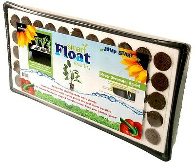 Jump Start Smart Float 55-Cell Styrofoam Grow Tray w/Plugs SAVE $$ W/ BAY HYDRO