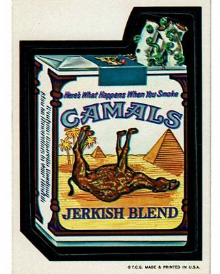1973 Wacky Packages 1st Series CAMALS