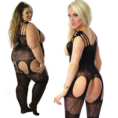 Many Designs Body Stockings Bodysuit Tights Catsuit Lingerie Fishnet Clearance