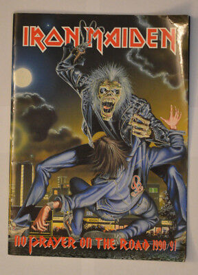 Iron Maiden - No Prayer On The Road 1990/91 - Programme 1990