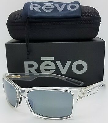 82eb0d2108 NEW Revo Crawler sunglasses RE1027 09 GGY Crystal Clear Graphite Polarized  1027