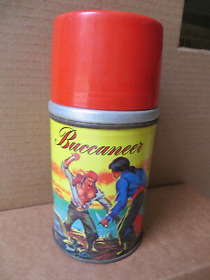 1950's ALADDIN BUCCANEER THERMOS-GREAT GRAPHICS