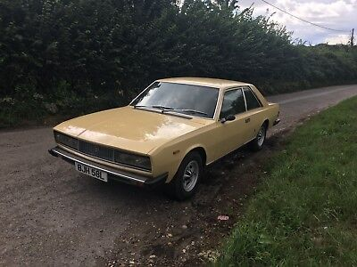Fiat 130 coupe  very rare car   .Just lovely !!
