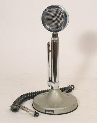 ASTATIC MODEL D-104 MICROPHONE ON T-UG8 STAND Good Vintage Condition