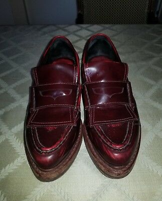 dc319a30cfa RAG AND BONE Leather Anton Penny Loafers Sz 38  Us 8 -  100.00 ...